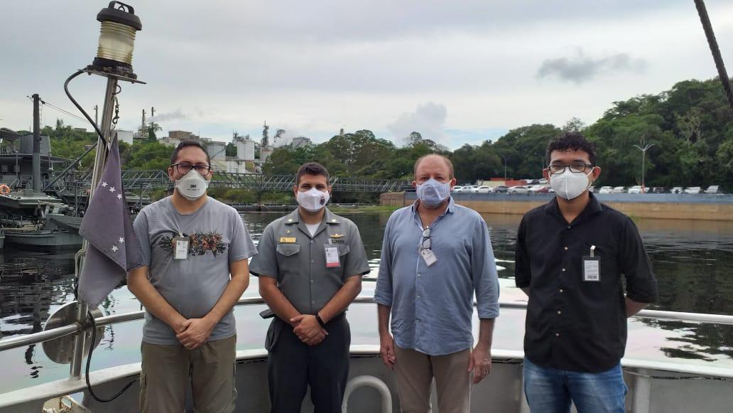 UFAM visita Marinha do Brasil